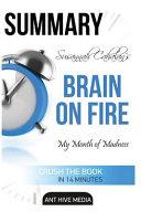 Susannah Cahalan S Brain On Fire Summary