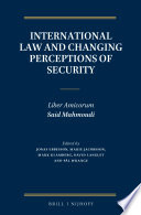 International Law and Changing Perceptions of Security
