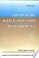 Water and Land Development
