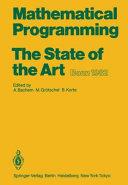 Mathematical Programming book
