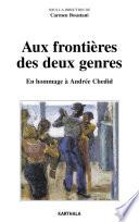 Aux fronti  res des deux genres  En hommage    Andr  e Chedid