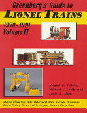 Greenberg s Guide to Lionel Trains  1970 1991