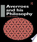 Averroes and His Philosophy PDF