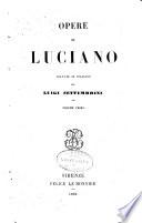 Opere; voltate in italiano da Luigi Settembrini