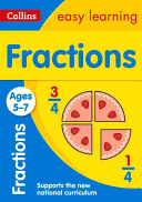Collins Easy Learning Age 5 7    Fractions Ages 5 7  New