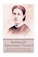 The Poetry Of Emma Lazarus Volume 3