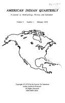 American Indian Quarterly Book PDF