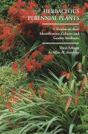 download ebook herbaceous perennial plants pdf epub