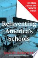Reinventing America s Schools