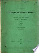 Inventaire-sommaire des Archives départementales antérieures à 1790, Tarn-et-Garonne