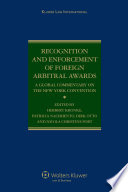 Recognition and Enforcement of Foreign Arbitral Awards