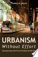 Urbanism Without Effort Book PDF