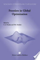 Frontiers In Global Optimization book
