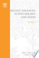 Recent Advances In Psychology And Aging book