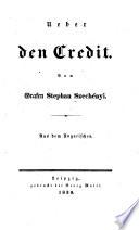 Ueber den Credit