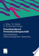 Praxishandbuch Firmenkundengesch  ft