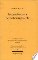 Internationales Bereicherungsrecht