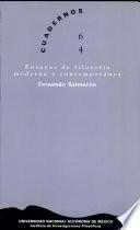 Ensayos de filosofía moderna y contemporánea