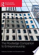 The Routledge Companion To Entrepreneurship book