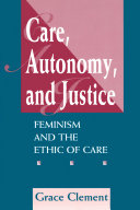 Care, Autonomy, And Justice