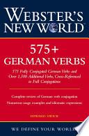 Webster s New World 575  German Verbs