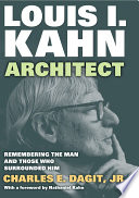 Louis I  Kahn   Architect