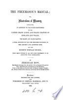 The Freemason S Manual Or Illustrations Of Masonry