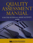 Quality Assessment Manual