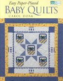 Easy Paper Pieced Baby Quilts