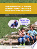When  and How  Theory of Mind Is Useful  Evidences from Research in the Life Span