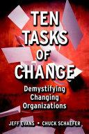 Ten Tasks of Change
