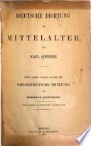 Deutsche Dichtung im Mittelalter