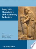 Deep Vein Thrombosis And Pulmonary Embolism