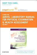 Physical Examination   Health Assessment Pageburst on VitalSource Retail Access Code