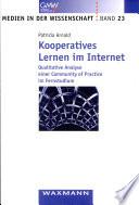 Kooperatives Lernen im Internet