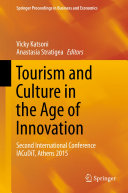 Tourism and Culture in the Age of Innovation Book