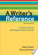 A Writer s Reference with Resources for Multilingual Writers and ESL