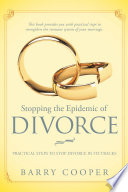 Stopping The Epidemic Of Divorce