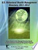 U  S  Behavioral Health Management Directory 2011 2012