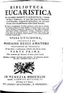 Biblioteca Eucaristica