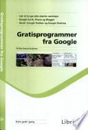 Gratisprogrammer fra Google