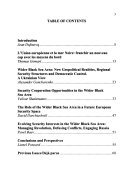 The role of the wider Black Sea area in future European security space