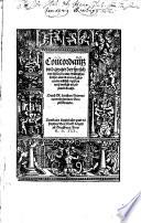 Concordantz vnd zeyger der spr  ch vund historien  aller Biblischen b  cher alts v   news Testaments te  tsch registers wei   verfa  t v   z  samen bracht