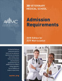 Veterinary Medical School Admission Requirements 2018