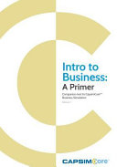 Intro to Business  a Primer