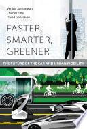 Faster  Smarter  Greener