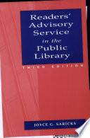 Readers Advisory Service In The Public Library book
