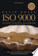 Iso 9000 Quality Systems Handbook Updated For The Iso 9001 2008 Standard
