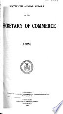 The Annual Report Of The Secretary Of Commerce