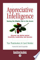 Appreciative Intelligence